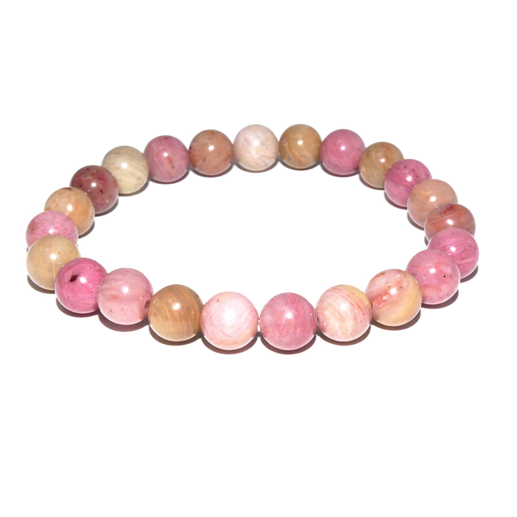 Rhodonite Unconditional Love 8mm Stretch Bracelet