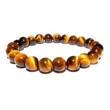 Load image into Gallery viewer, Tigers Eye Willpower 8mm Stretch Bracelet