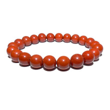 Load image into Gallery viewer, Red Jasper Earth Warrior Freedom Fighter Protection 8mm Stretch Bracelet