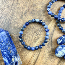 Load image into Gallery viewer, Sodalite Harmony and Truth 8mm Stretch Bracelet