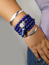 Load image into Gallery viewer, Limited Chilean Lapis Lazuli Enlightenment 108 Mala Necklace Bracelet