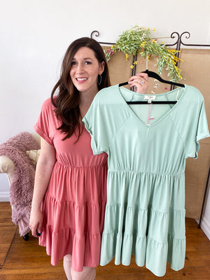 Victoria Ruffle Dress