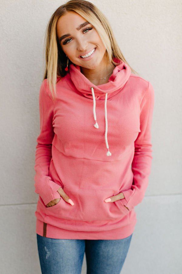 Cowl Neck Sweatshirt - Sweet Side