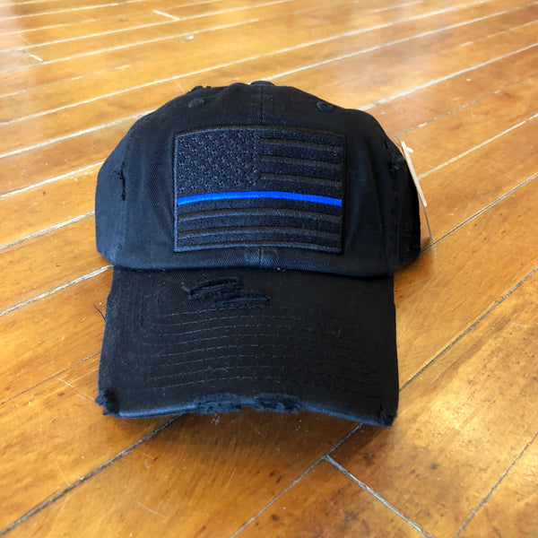 Thin Blue Line Baseball Hat