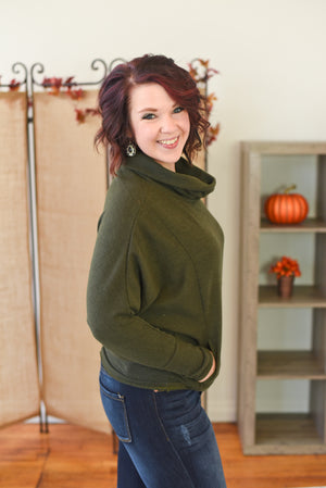 Augusta Cowl Neck Sweater