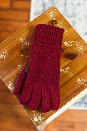 CC Knitted Gloves