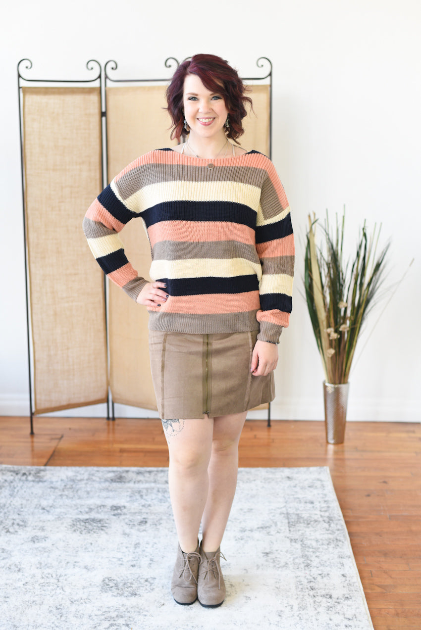 Winter Fleece Lined Skirt