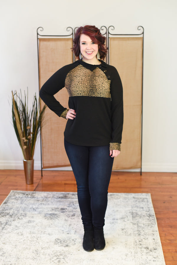 Amara Mock Neck Sweater