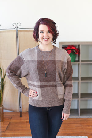 Rachelle Plaid Sweater