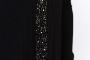 Noir Sparkle Top