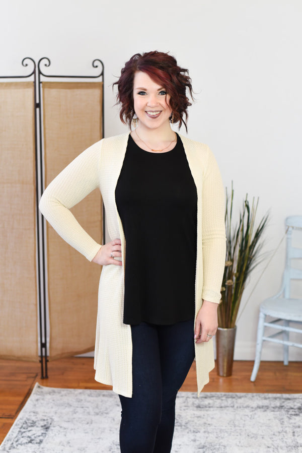 Blake Lace Up Cardigan