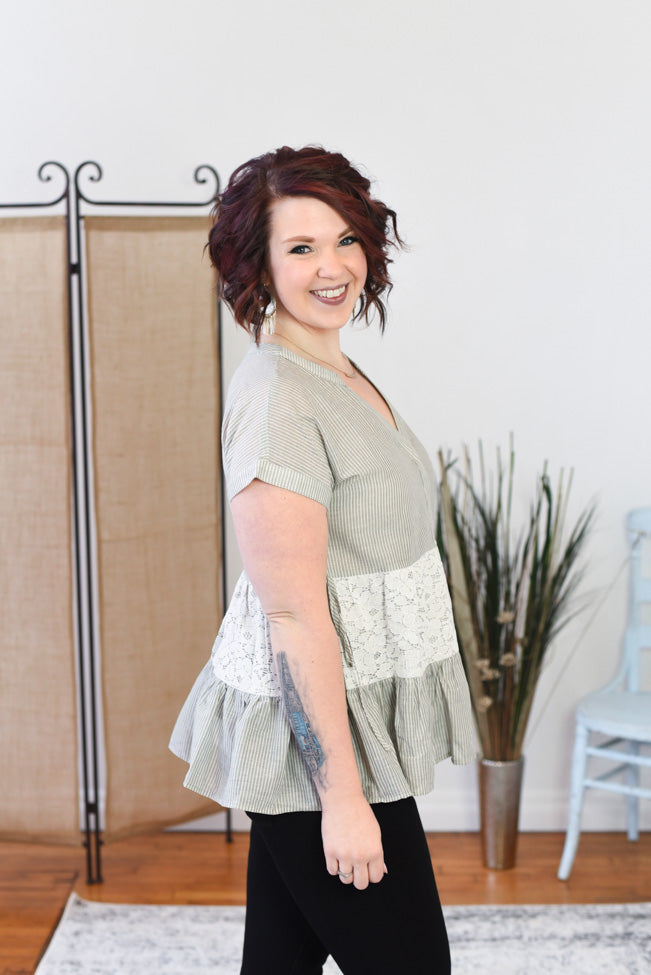 Adley Ruffle Top