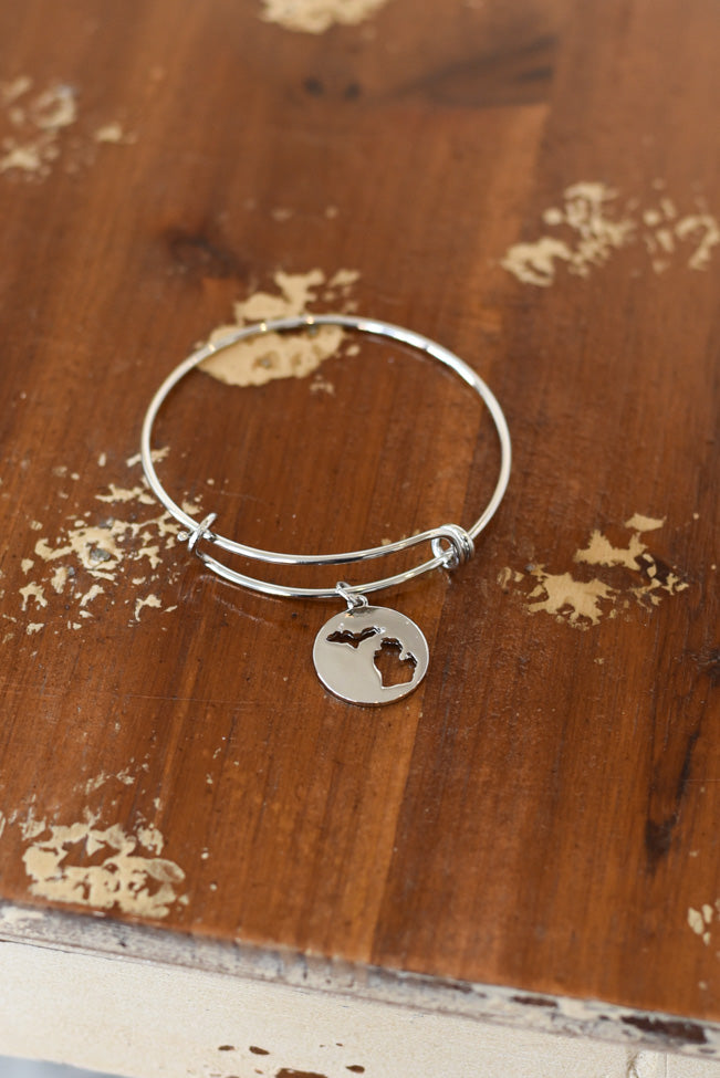 Michigan Coin Bracelet