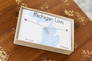 Michigan Cutout Necklace