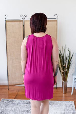 Savana Dress - Raspberry