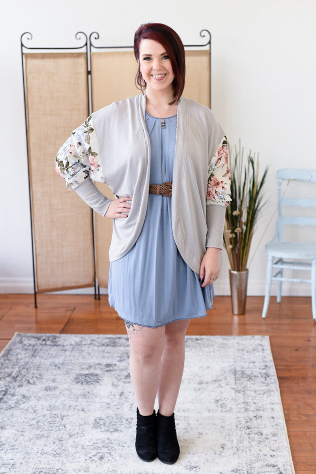 Savana Dress - Misty Blue