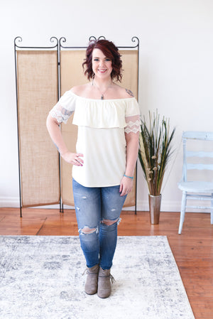 Suzanne Off Shoulder Top