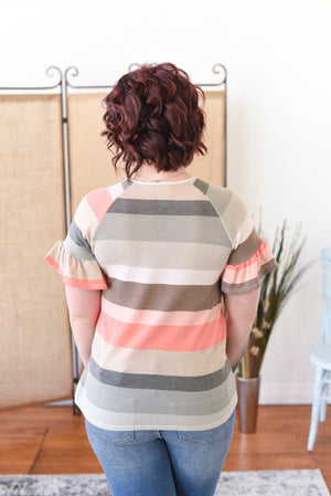 Meaghan Striped Top