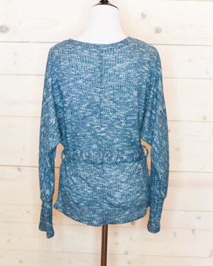 Sylvia Wrap Sweater