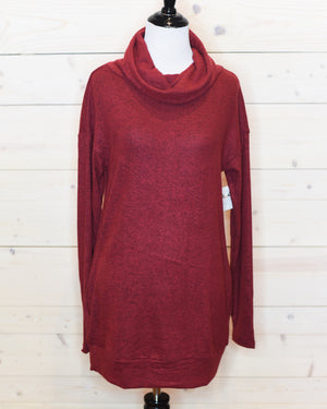 Snuggle Season Cowl Neck Sweater