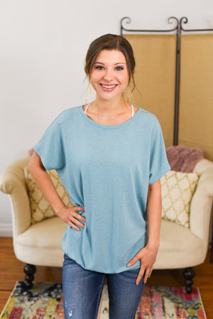 Raelynn Twist Back Top