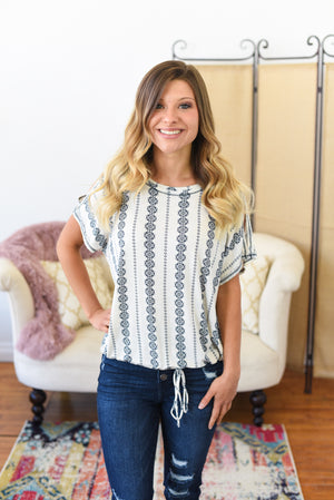 Harper Open Shoulder Top