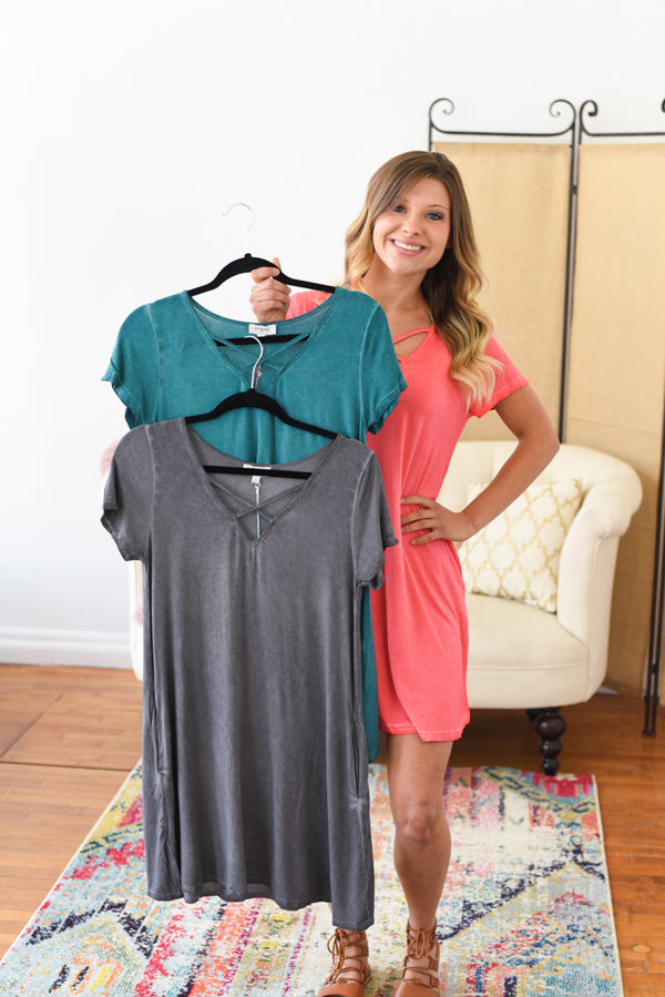 June T-Shirt Dress