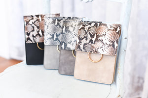 Python Print Crossbody Purse