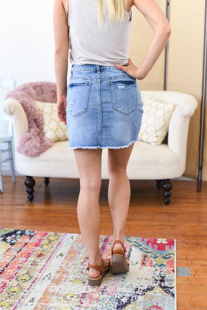 Zoey Denim Skirt