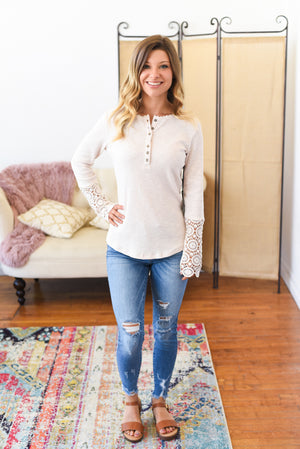 Adeline Crochet Top