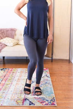 Live In Leggings - Gray