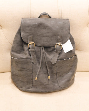 Vegan Carryall Backpack - Grey