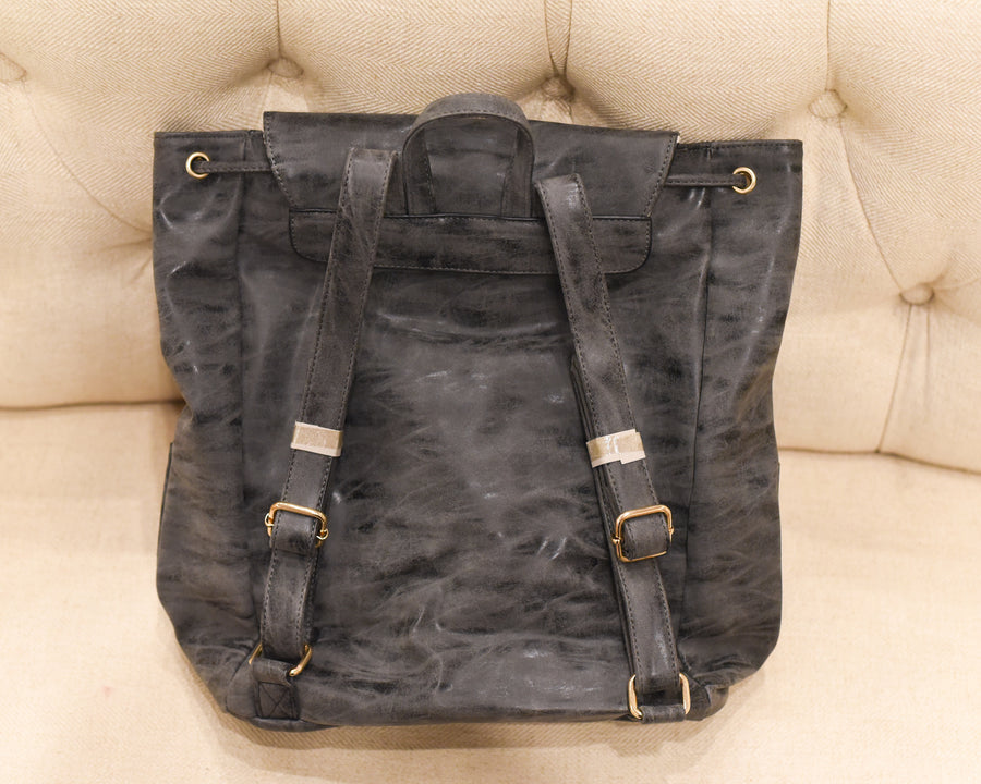 Vegan Carryall Backpack - Charcoal