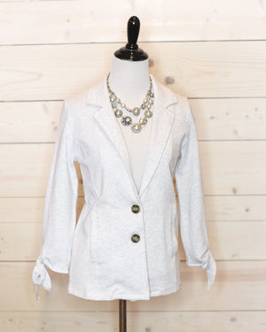 Pearl French Terry Blazer