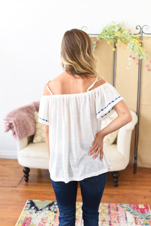 Amanda Open Shoulder Top