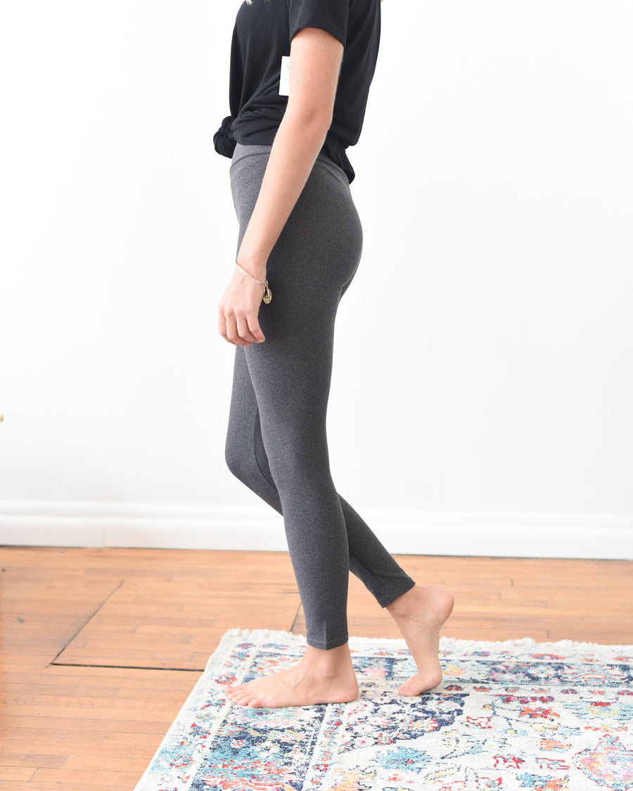 Live-In Leggings - Heathered Gray