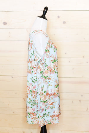 Robin Blue Floral Dress