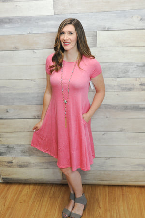 Madilyn Swing Dress with Pockets