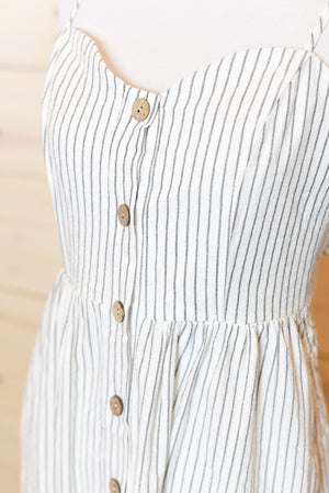 Posie Button-Up Midi Dress