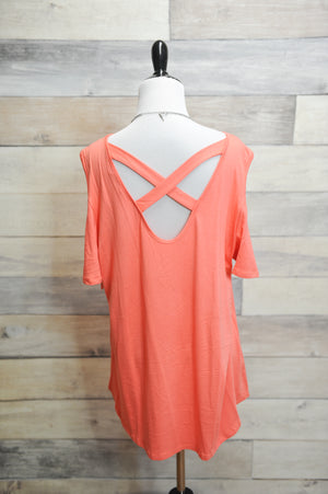 Clara Crisscross Back Top (Curvy)