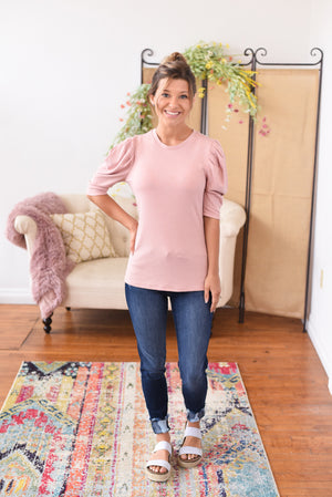 Chelsey Puffed Sleeve Top