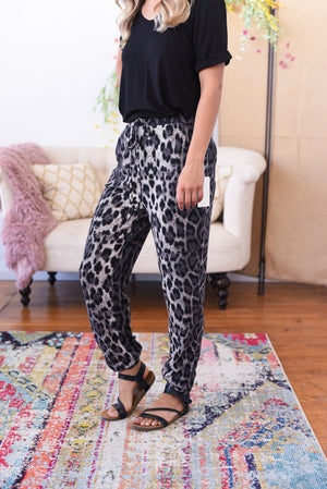 Animal Print Lounge Pants