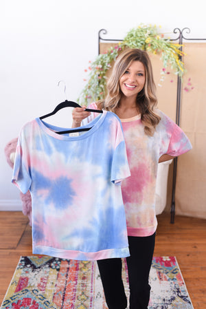 Sunset Dreams Tie Dye Top