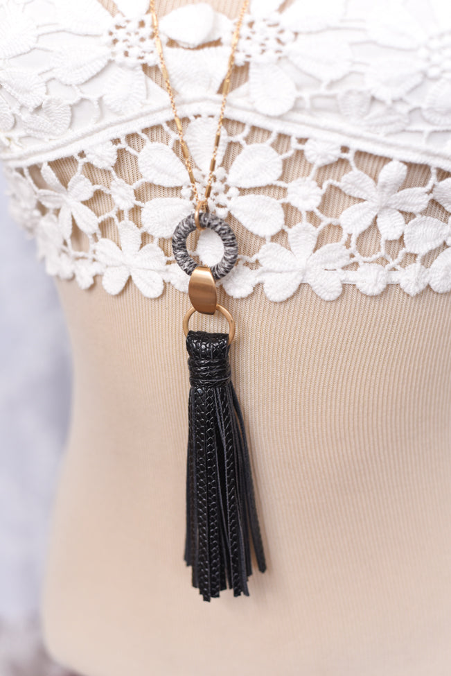 Winnie Tassel Necklace