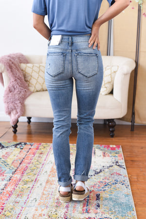 Penny High Rise Kancan Mom Jeans