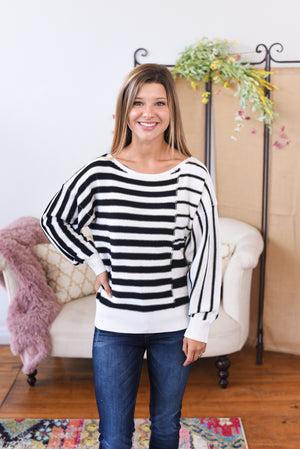 Bexely Striped Sweater