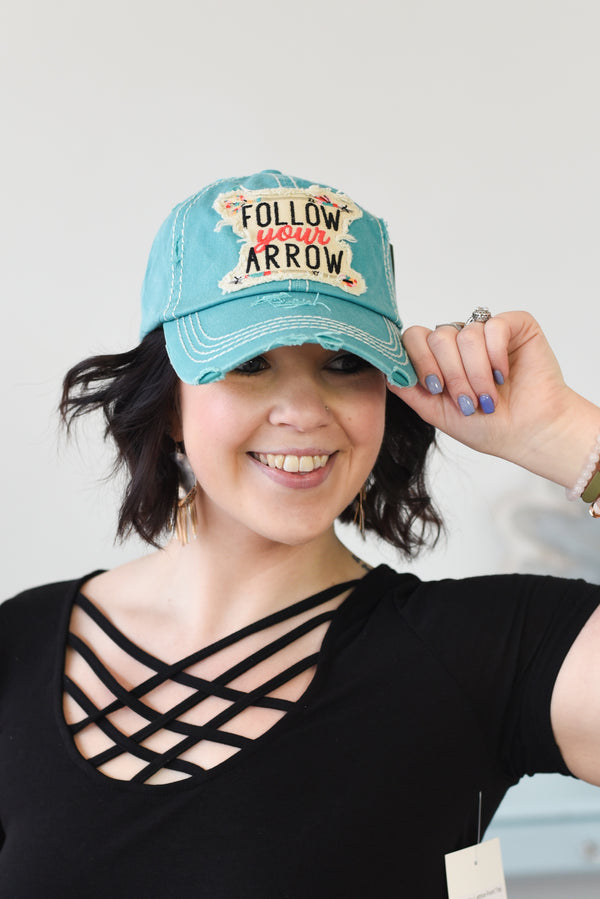 Follow Your Arrow Baseball Hat