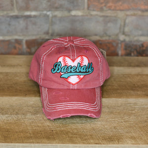 Love Baseball Hat