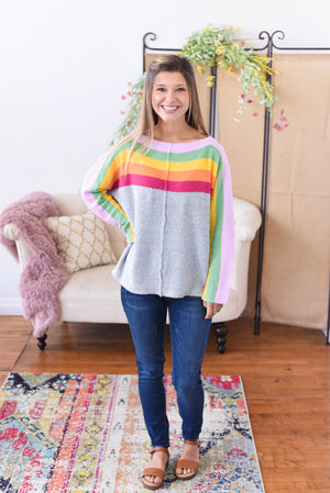 Rainbow Dreams Sweater