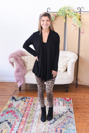 Fenna Animal Print Leggings